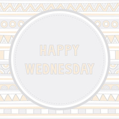 Happy Wednesday background1