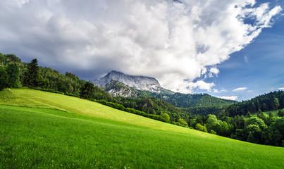 Beautiful rocks in Alps