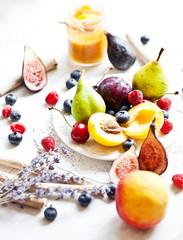 Multicolor fruits