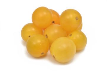 Gelbe Kirschtomaten