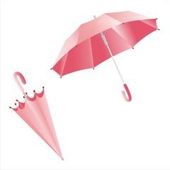 Paraguas mod1 openclose rosa
