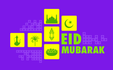 Eid Mubarak (Happy Eid) background
