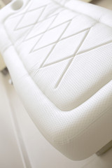 Massage bed white skin
