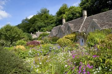 Cottage garden at Bibury