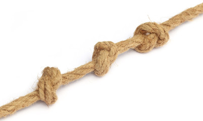 Knot on old rope