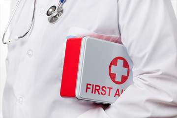 Doctor and First Aid Kit