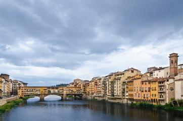 Ponte Vecchio Nuvoloso