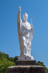 Statue évêque Martial