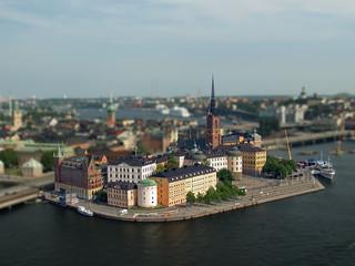 Riddarholmen, Gamla stan, Stockholm, Sweden - miniature
