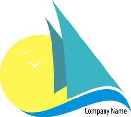 Vector logo sailing © profesja_bielsko
