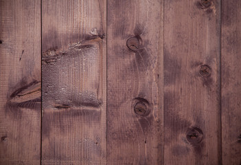 Old scratched wooden board