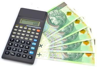 Polish banknotes