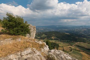 Beautiful Landscapes at Bismantova Stone