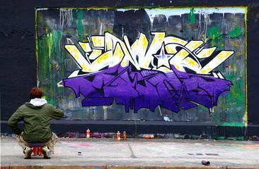 Graffiti, Sprüher, Künstler