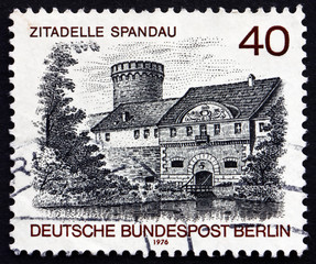 Postage stamp Germany 1976 Spandau Castle