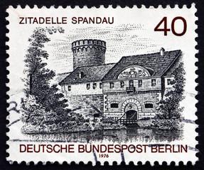Postage stamp Germany 1976 Spandau Castle