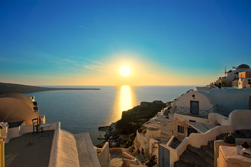 Santorini Oia Sunset, lovers spot