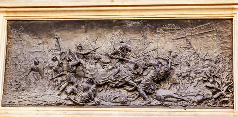 King Ferdinand Battle Moors 1492 Statue Andlusia Granada