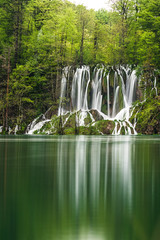 View in the Plitvice Lakes