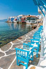Little Venice on Mykonos Island