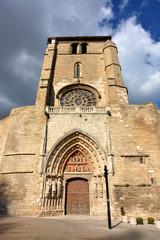 fachada de la iglesia de san esteban en burgos