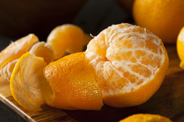 Fresh Raw Organic Mandarin Oranges