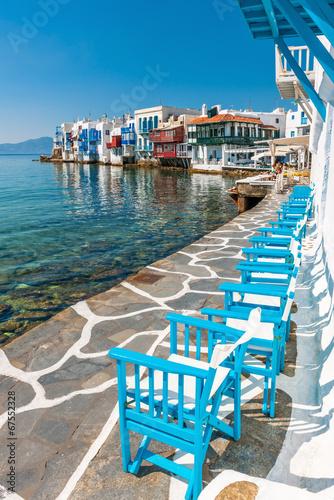 Little Venice on Mykonos Island - 67552328