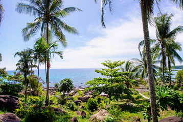 Beautiful tropical landscape on Koh Kood island, Thailand