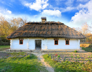 ukrainian antique house