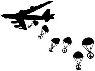 B52 Friedensbomber