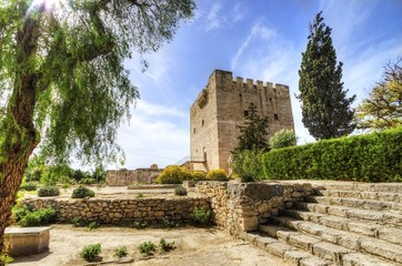 Medieval castle of Kolossi, Limassol, Cyprus
