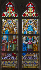 Bruges - Presentation in Temple and Moses rescued from Nile