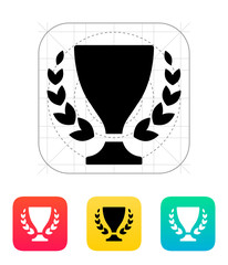 Trophy and awards icon.