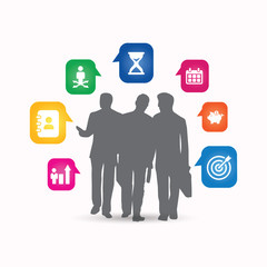 Business Consultants - Concept, Vector