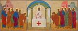 Mechelen - orthodox icon of Communion the Apsotle
