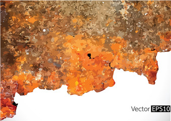 Grunge rusty background.  illustration