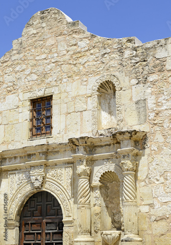 Foto Spatwand Texas The Historic Alamo, San Antonio, Texas, USA