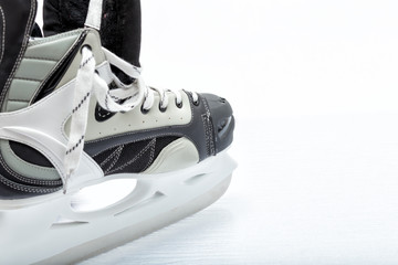 Hockey ice skate