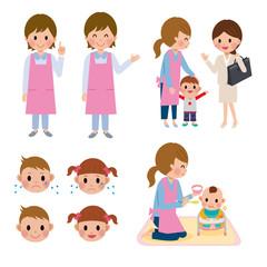 保健師 保育士 子育て 育児