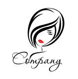 Fototapety логотип девушка