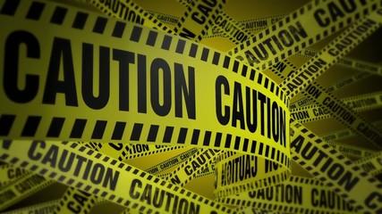 PoliceTape Caution Yellow