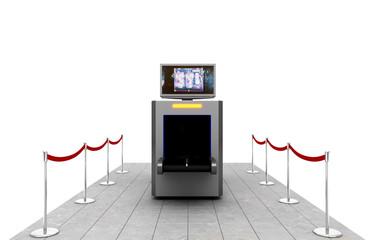 Controllo bagagli , scanner, imbarco, aeroporto