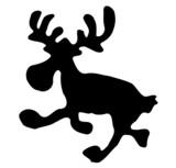 Elch / Rentier Weihnachten