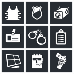 Security icon collection