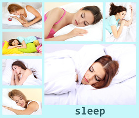 Sweet dreams collage