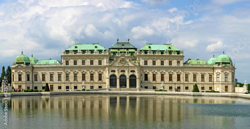 canvas print picture Schloss Belvedere