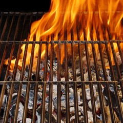 Flaming BBQ Grate