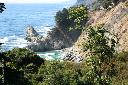 canvas print picture Kueste Julia Pfeiffer Burns State Park