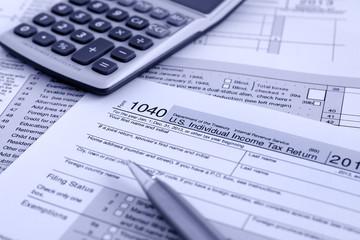 US Tax Return Form IRS 1040