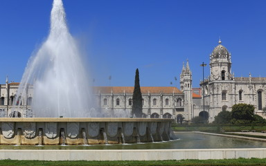 Monastery and Fountain